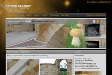 Kamień ozdobny SMERDYNA - Transport Smerdyna