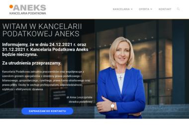 ANEKS - Kancelaria Podatkowa - dr Anna Leszczyńska - Finanse Łowicz