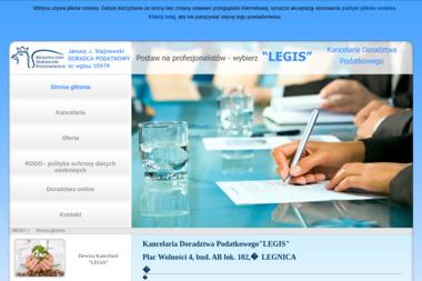"""Kancelaria Doradztwa Podatkowego""""LEGIS"""" - Biuro Podatkowe Legnica"""