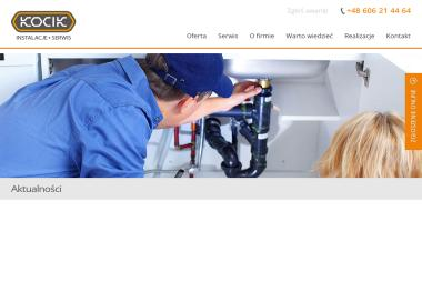 INSTALACJE Sylwester Kocik - Urządzenia, materiały instalacyjne Tarnów