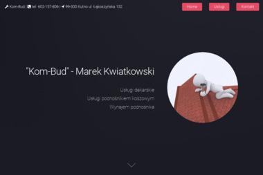 Kom-Bud Marek Kwiatkowski - Dachy Kutno