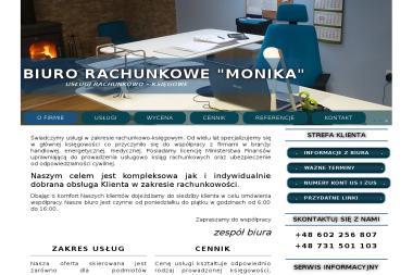 "Biuro Rachunkowe ""MONIKA"" - Biuro rachunkowe Miko艂ów"