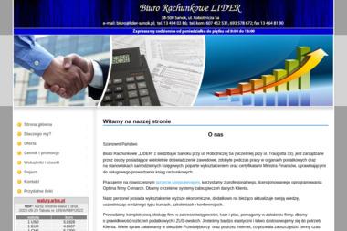 Biuro Rachunkowe LIDER - Biuro rachunkowe Sanok