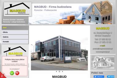 MAGBUD - Domy Murowane Pod Klucz Rzeszów