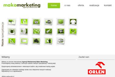 Mako Marketing Agencja Reklamowa - Poligrafia Zielona Góra