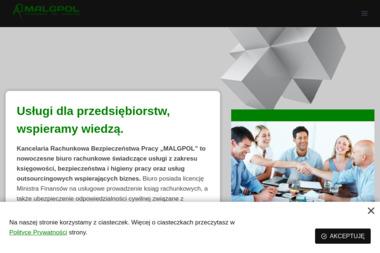 Kancelaria Rachunkowa Bezpieczeństwa Pracy Malgpol Małgorzata Polaszek - Biuro rachunkowe Lipinki