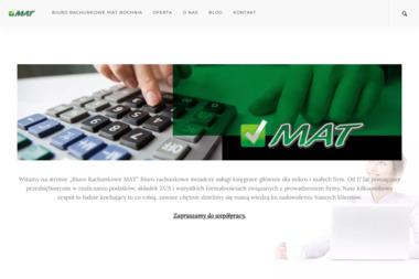 P.H.U. MAT Biuro Rachunkowe MAT - Biuro rachunkowe Bochnia