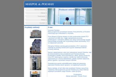 """P.P.H.U  """"MAXPOL & POLMAX"""" - Okna Oborniki"""