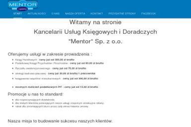 Kancelaria Usług Księgowych i Doradczych Mentor Barbara Małek Makos - Biuro rachunkowe Lędziny