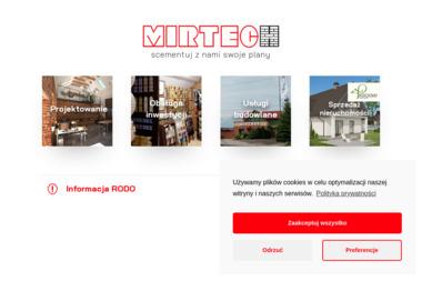 MIRTECH Sp. z o.o. - Tynki Maszynowe Cementowo Wapienne Czarnków