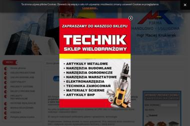 MK Firma Projektowo-Budowlana. Maciej Krukierek - Projekty Domów Krosno