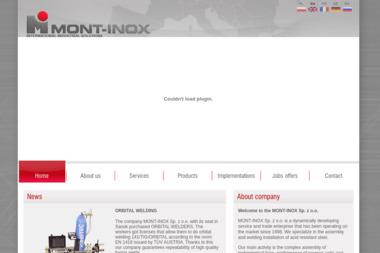 MONT-INOX Sp. z o.o. - Spawacz Sanok