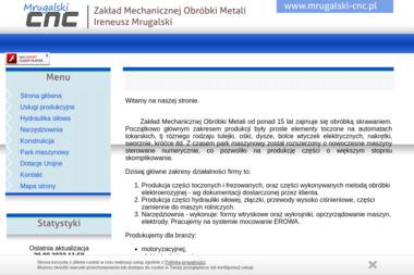 Zakład Mechanicznej Obróbki Metali Ireneusz Mrugalski - Tokarz Wolsztyn