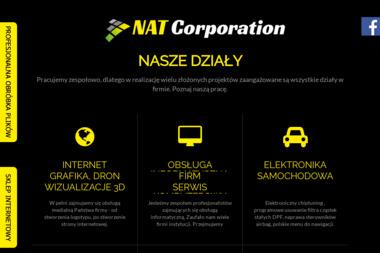 NAT Corporation - Agencja Interaktywna Ciechanów