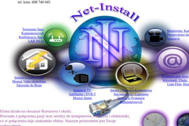 Net-Install - Domofony, wideofony Rzeszów
