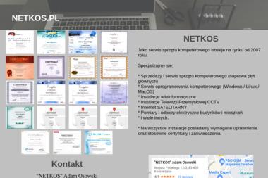 NETKOS Adam Osowski - Wymiana Instalacji Elektrycznej Kościerzyna