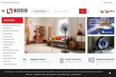 Hurtownia Elektryczna NIECIU - Producent Odzieży Damskiej Nowy Sącz