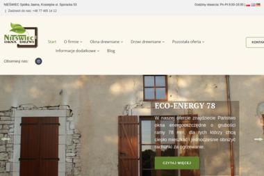 NIEŚWIEC Spółka Jawna - Producent Drzwi Drewnianych Krasiejów