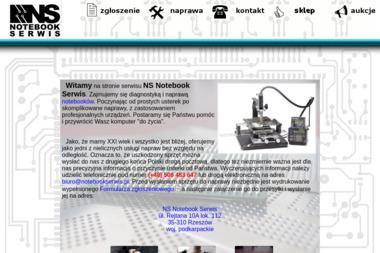 NS Notebook Serwis - Naprawa Komputerów Rzeszów