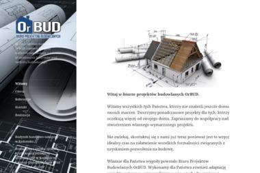 OrBUD projekty budowlane - Nadzór Budowlany Radomsko