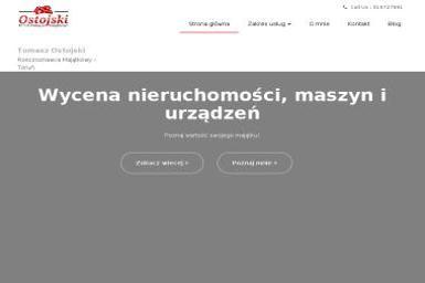 Tomasz Ostojski Tomidom - Sprzedaż Nieruchomości Toruń