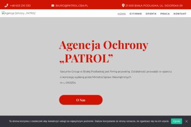 PATROL - agencja ochrony osób i mienia - Detektyw Biała Podlaska