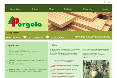 PERGOLA - Tarcica budowlana Szczecin