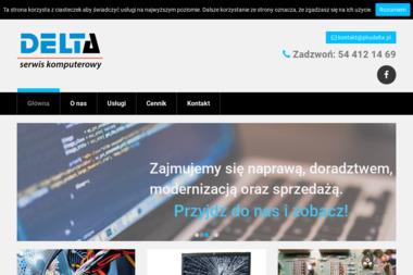 PHU DELTA - Serwis komputerów, telefonów, internetu Włocławek