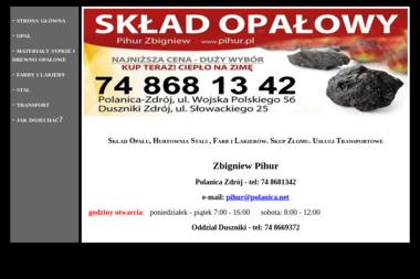 Skład Opałowy Pihur Zbigniew - Paliwo Opałowe Polanica-Zdrój