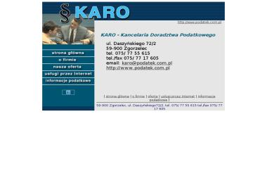 KARO - Kancelaria Doradztwa Podatkowego - Finanse Zgorzelec