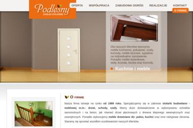 Zakład Stolarski Podleśny - Okna PCV Rybnik
