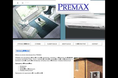 Z.H.U. Premax S.C. - Wentylacja i rekuperacja Biała Podlaska