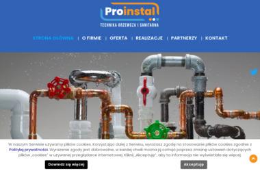 """Firma Projektowo-Usługowa """"Proinstal"""" - Adaptacja projektów Limanowa"""