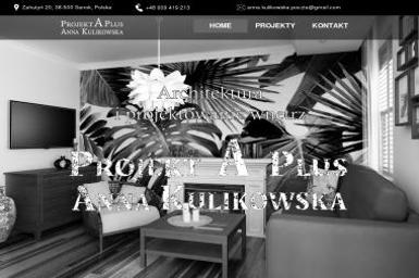 Projekt A Plus Anna Kulikowska - Architekt wnętrz Sanok