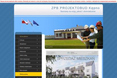 Z.P.B. PROJEKTOBUD - Zbrojarz Kępno