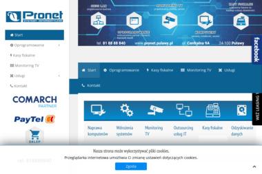 PRONET - Obsługa Informatyczna Puławy