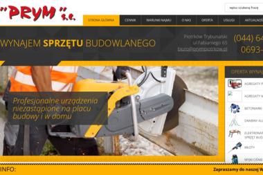 """Przedsiębiorstwo Inżynieryjno - Budowlane """"PRYM"""" s.c. - Kierownicy Budowy Piotrków Trybunalski"""