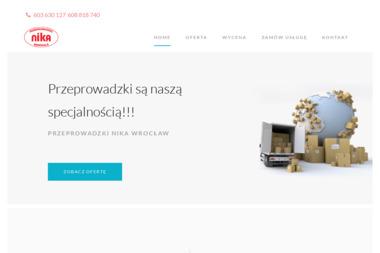 AB NIKA Firma Przeprowadzkowa - Przeprowadzki międzynarodowe Wrocław