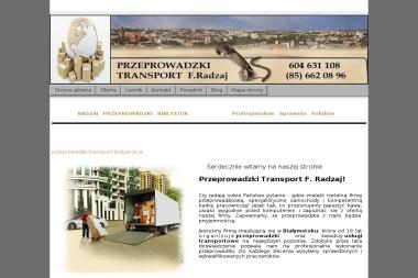 Export Import Transport - F. Radzaj - Przewóz Mebli Białystok