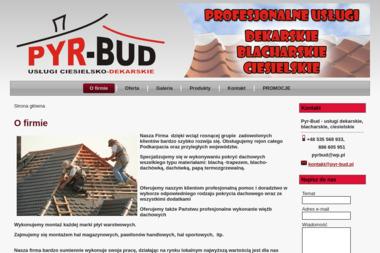 Pyr-Bud - Inżynier Budownictwa Rakszawa