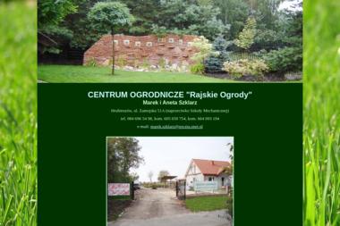 """CENTRUM OGRODNICZE """"Rajskie Ogrody"""" - Projektowanie ogrodów Hrubieszów"""