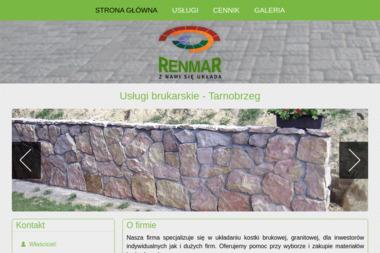 Renmar - Układanie kostki brukowej Tarnobrzeg