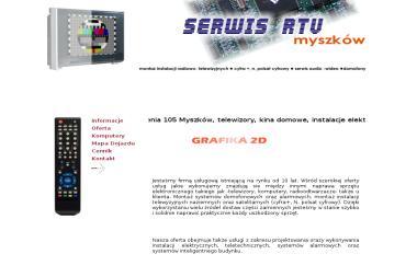 Usługi RTV - Serwis komputerowy Myszków