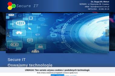 Secure It Jarosław Psipsiński - Promocja Firmy w Internecie Wieluń