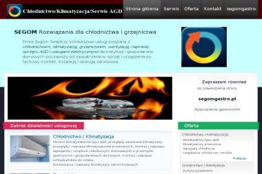Segom Firma Handlowo Usługowa - Klimatyzacja Kielce