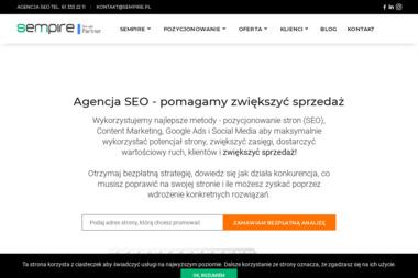 SEMPIRE Pozycjonowanie stron - Agencja PR Poznań