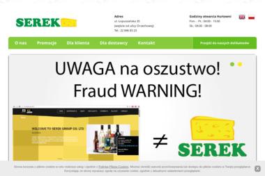 Serek Sp. z o.o. - Kosze prezentowe Warszawa