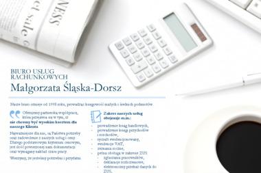 Biuro Usług Rachunkowych Małgorzata Śląska Dorsz - Usługi finansowe Piaski