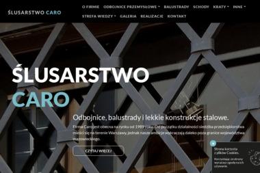 Ślusarstwo Caro - Metalowe Schody Warszawa