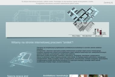 """""""Smilek"""" Pracownia Projektowo - Usługowa - Projekty Domów z Poddaszem Mikołów"""